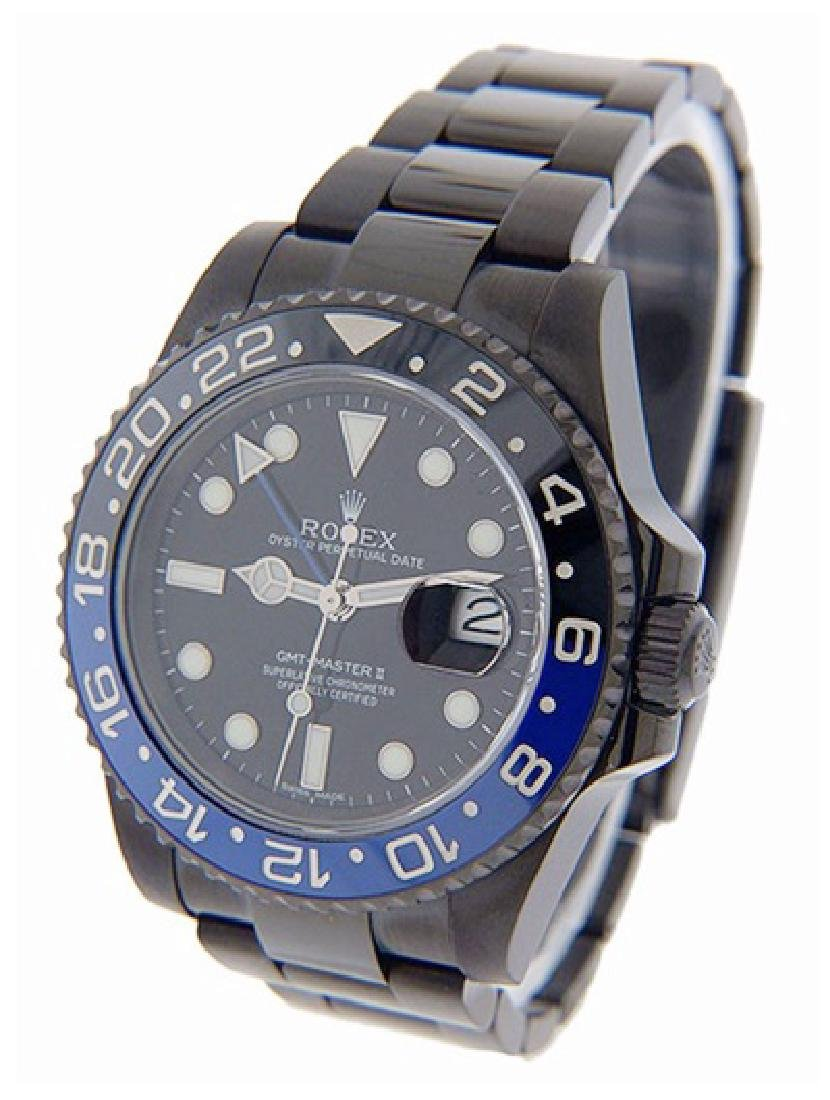 Men's Custom GMT Master II Rolex