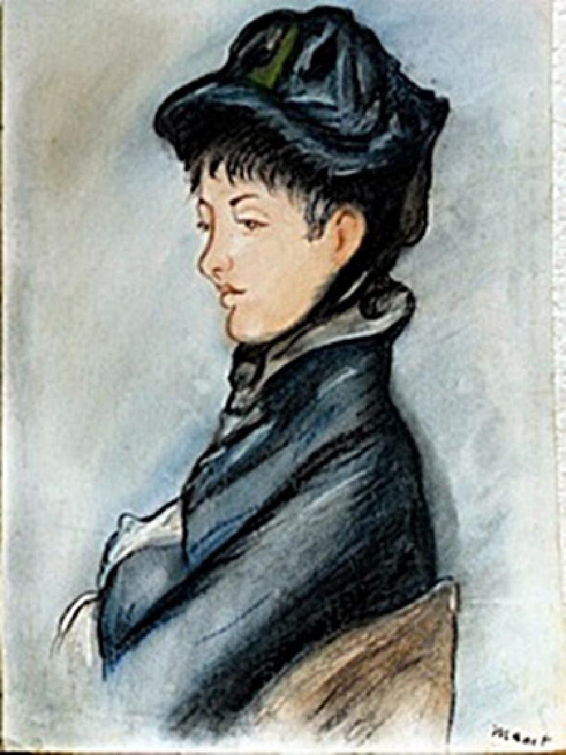 Lady Comillette  Edouard Manet