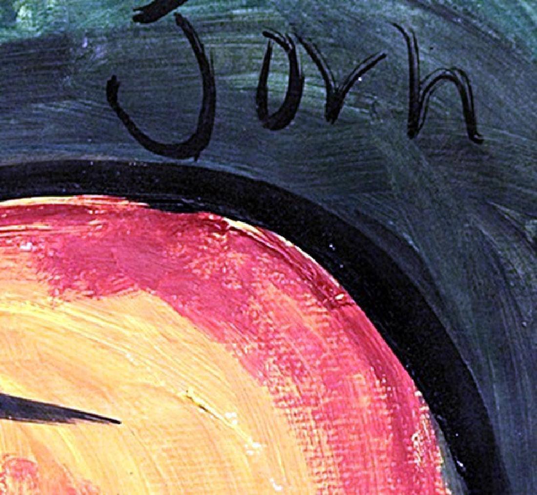 Me - Asger Jorn - Oil On Paer - 3