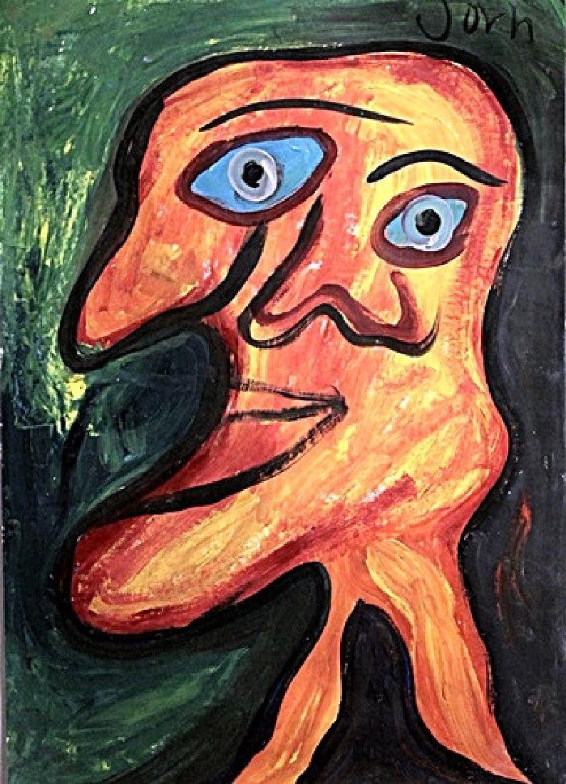 Me - Asger Jorn - Oil On Paer