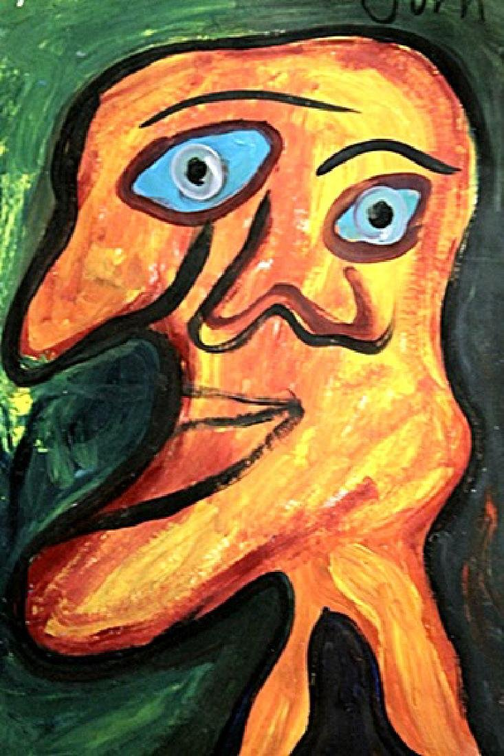 Me - Asger Jorn - Oil On Paer - 2
