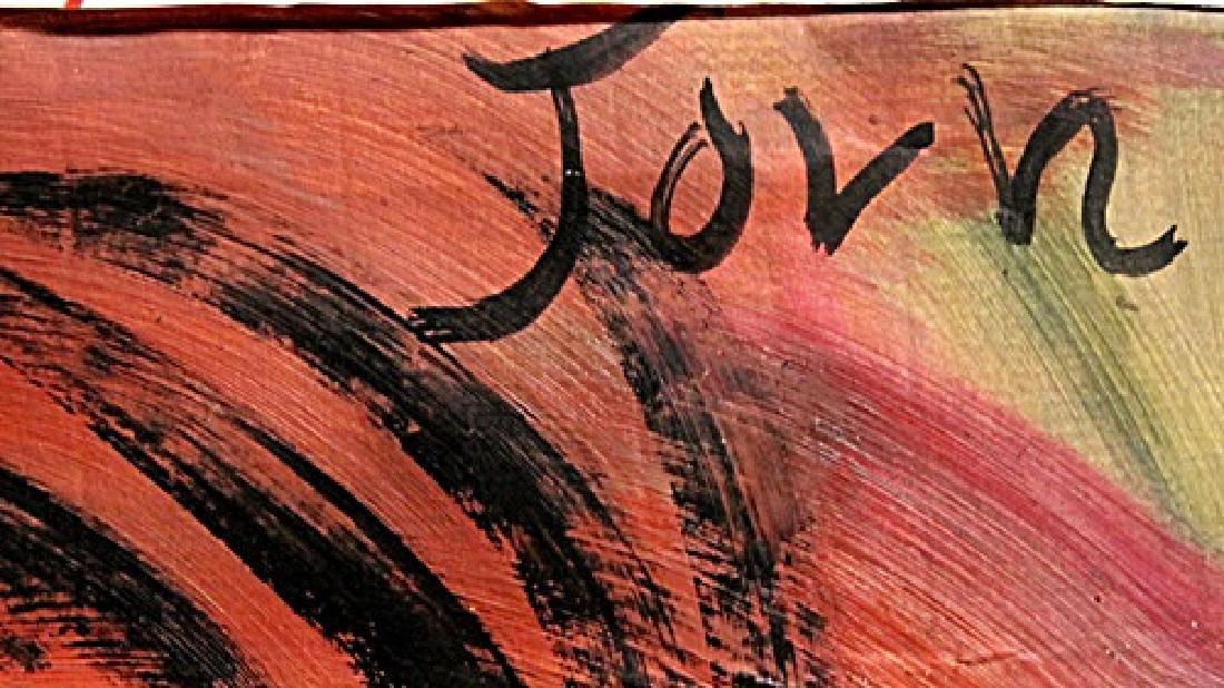 Hippoforme - Asger Jorn - Oil On Paper - 3