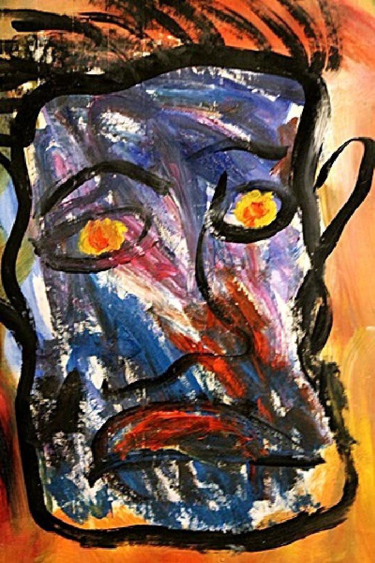 Hippoforme - Asger Jorn - Oil On Paper - 2