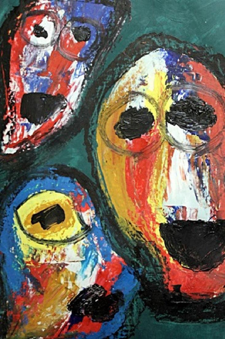 The Circus - Asger Jorn - Oil On Paper - 2
