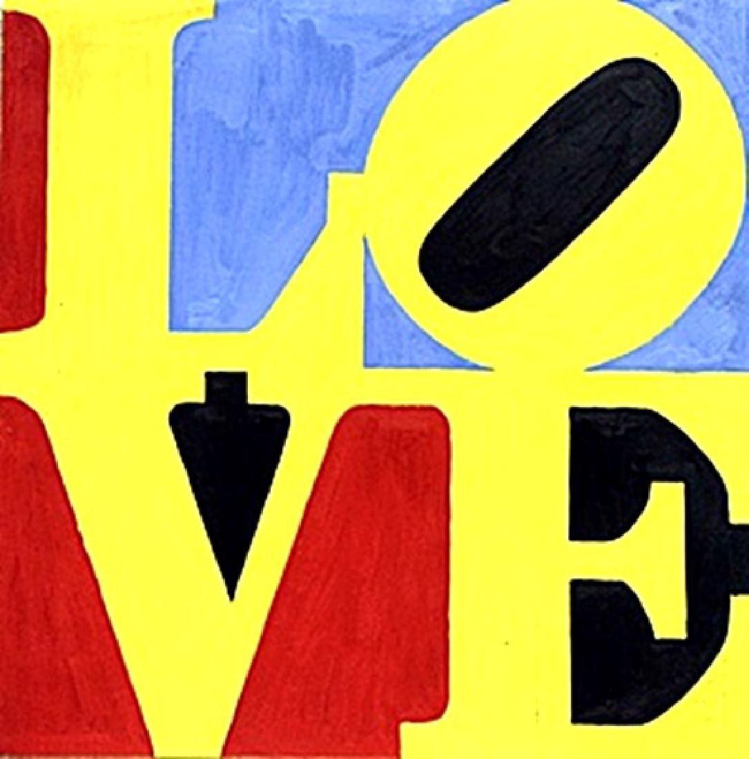 Love No.7  Robert Indiana