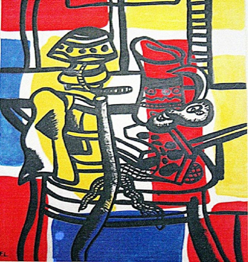 Fernand Leger - The Table