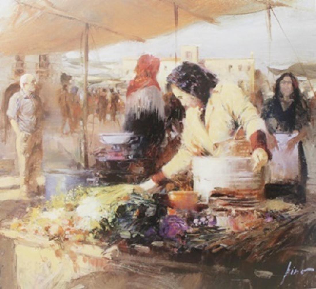 "Giclee on Paper ""Rustic Market""  Pino (39ZI)"