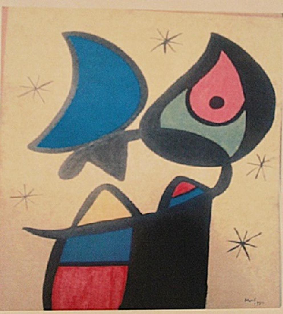 Joan Miro - Woman In The Moon