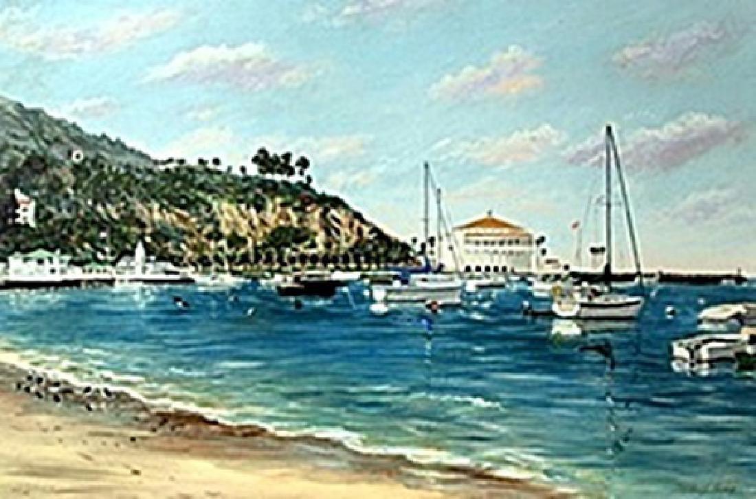 "Giclee ""Avalon Bay""  Michael J. Lavery"