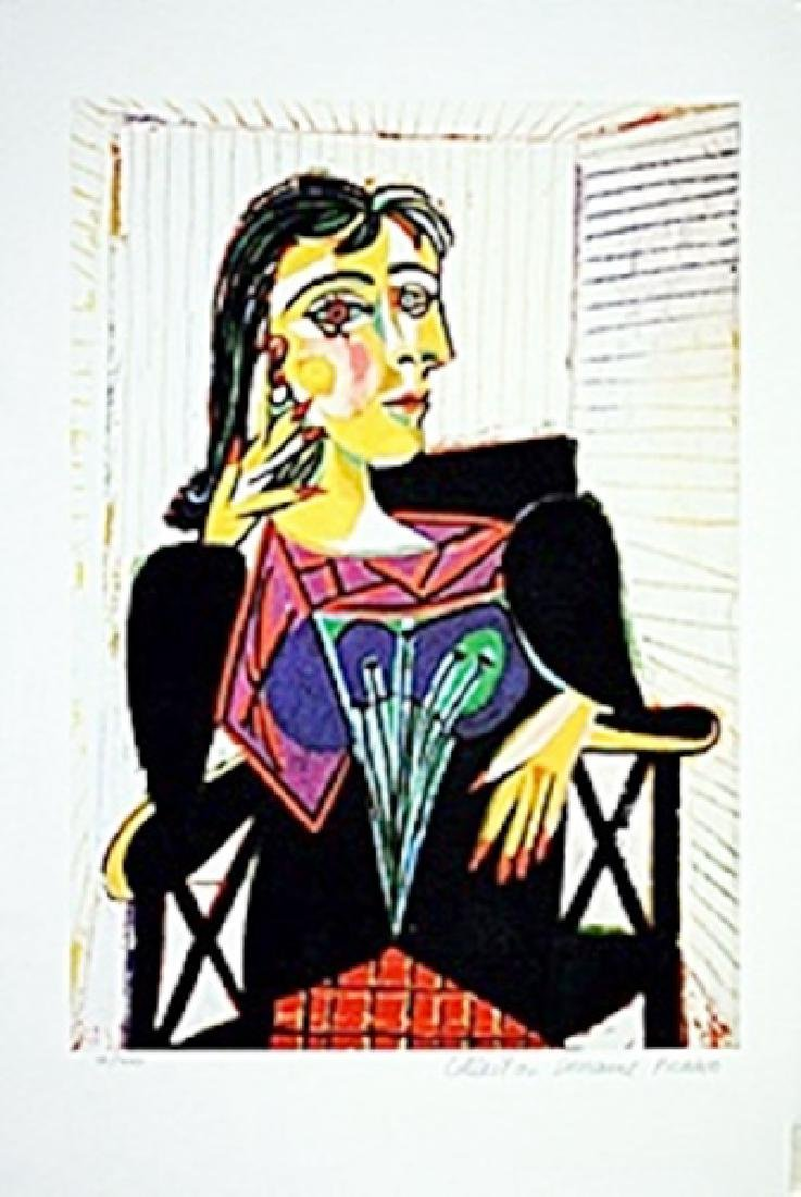 Picasso Limited Edition - Dora Maar Seated - from