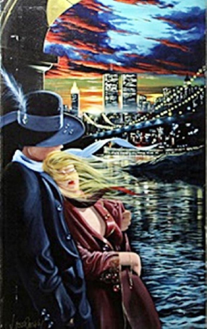 """authentic giclee """"Farewell"""" after Victor Ostrovsky"""