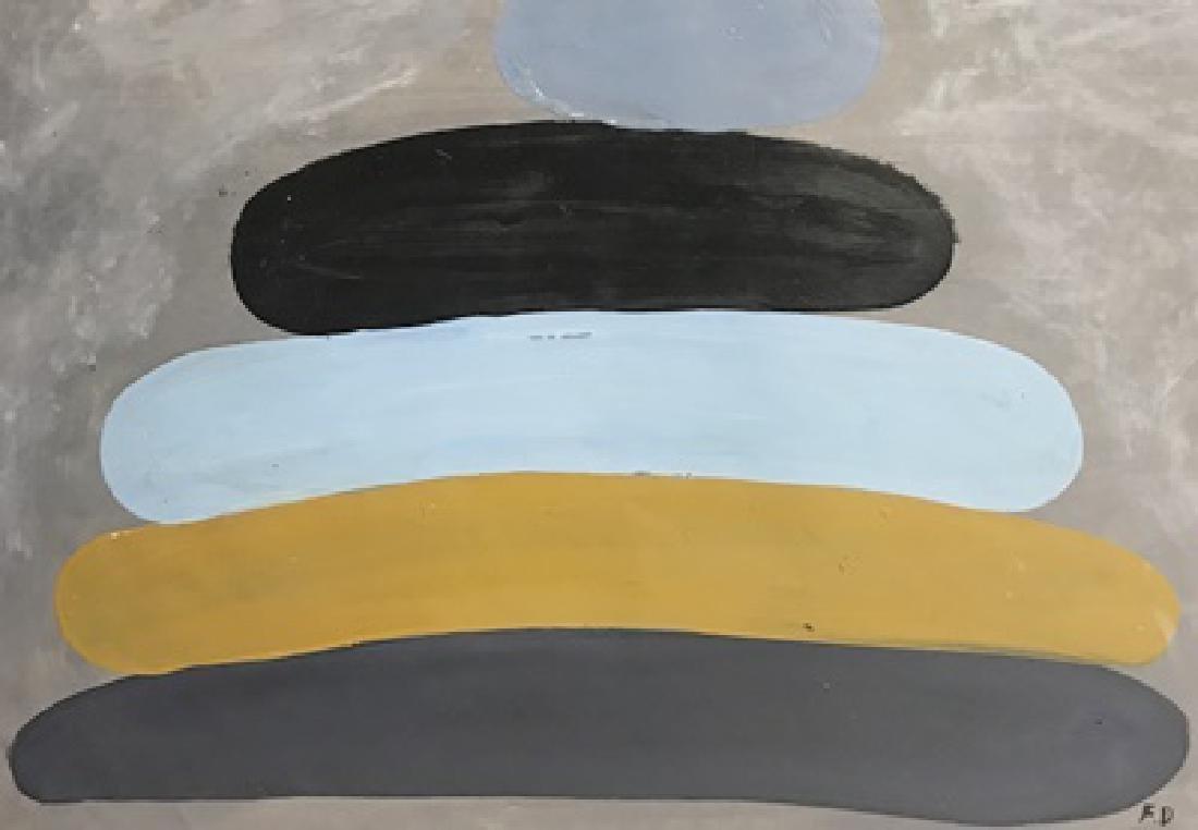 Friedel Dzubas - Oil On Paper