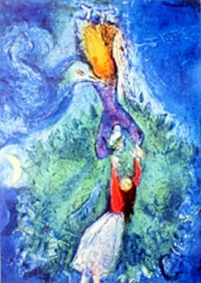 Authentic Giclee on Paper  Marc Chagall
