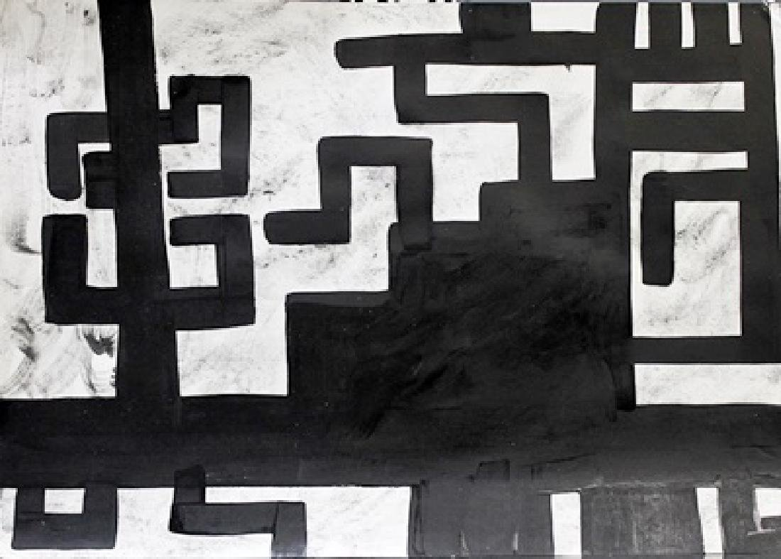 Infinity - Richard Serra - Oil On Paper