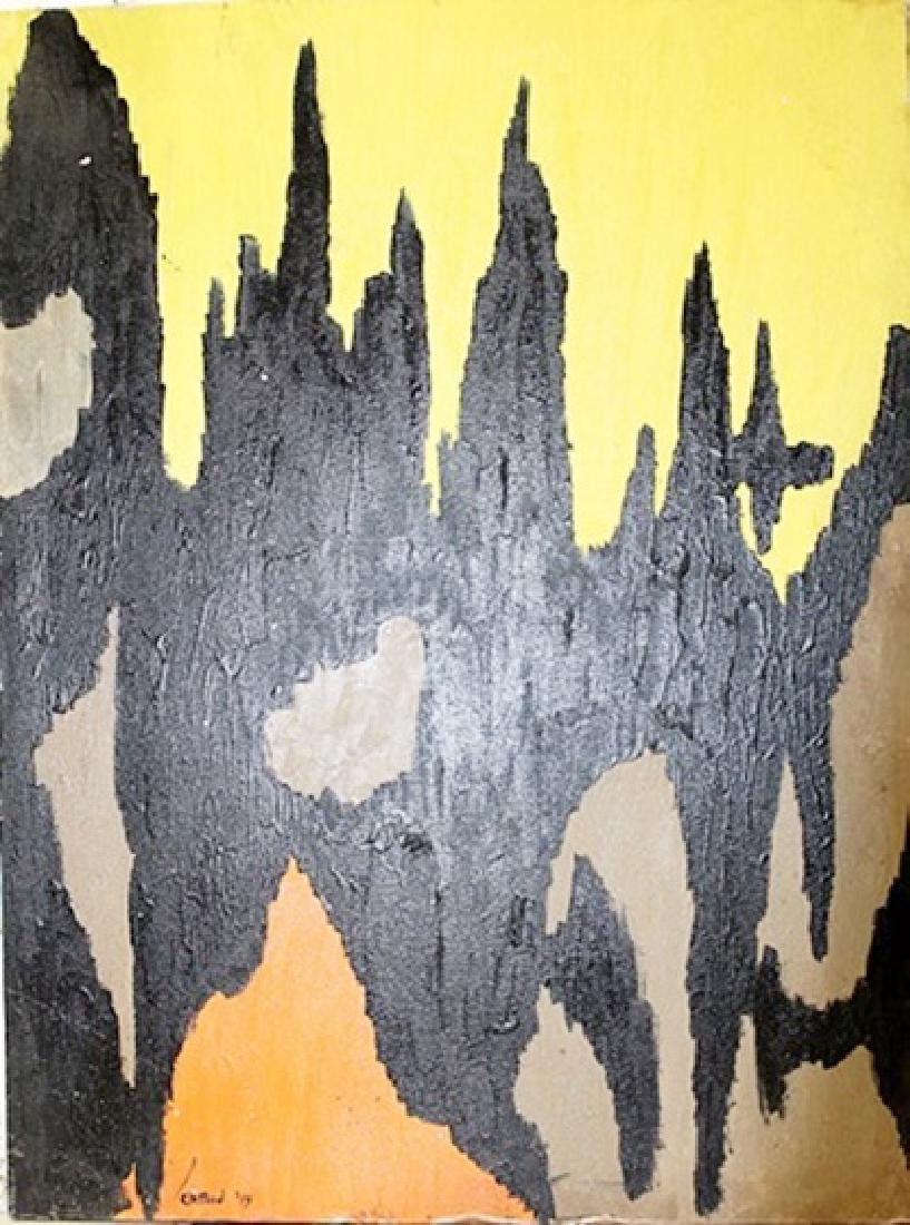 Infinity - Clyfford Still - Oil On Canvas