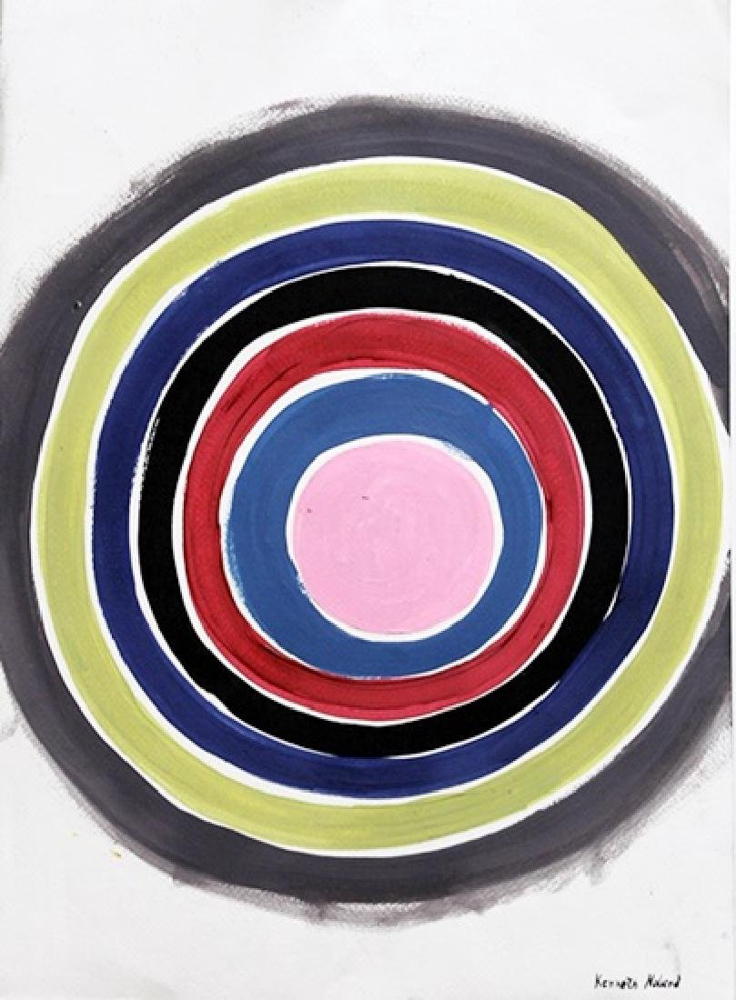 Galore - Kenneth Noland - Oil On Paper