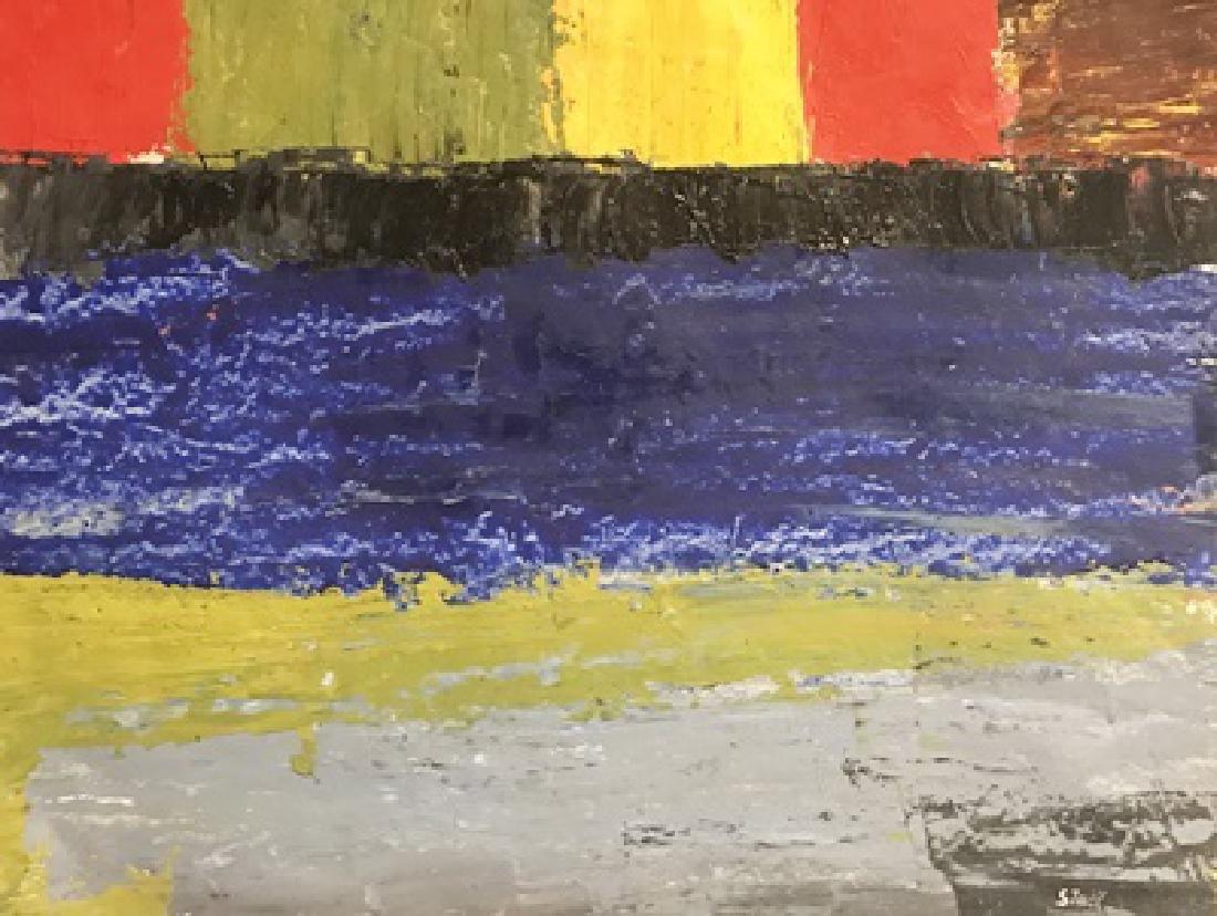 Urus - Nicolas De Stael - Oil On Paper
