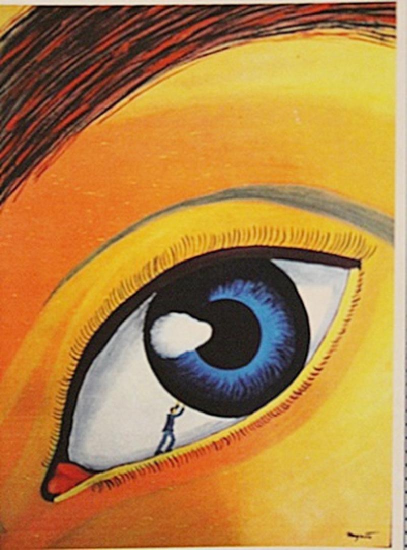 Rene Magritte - The Eye