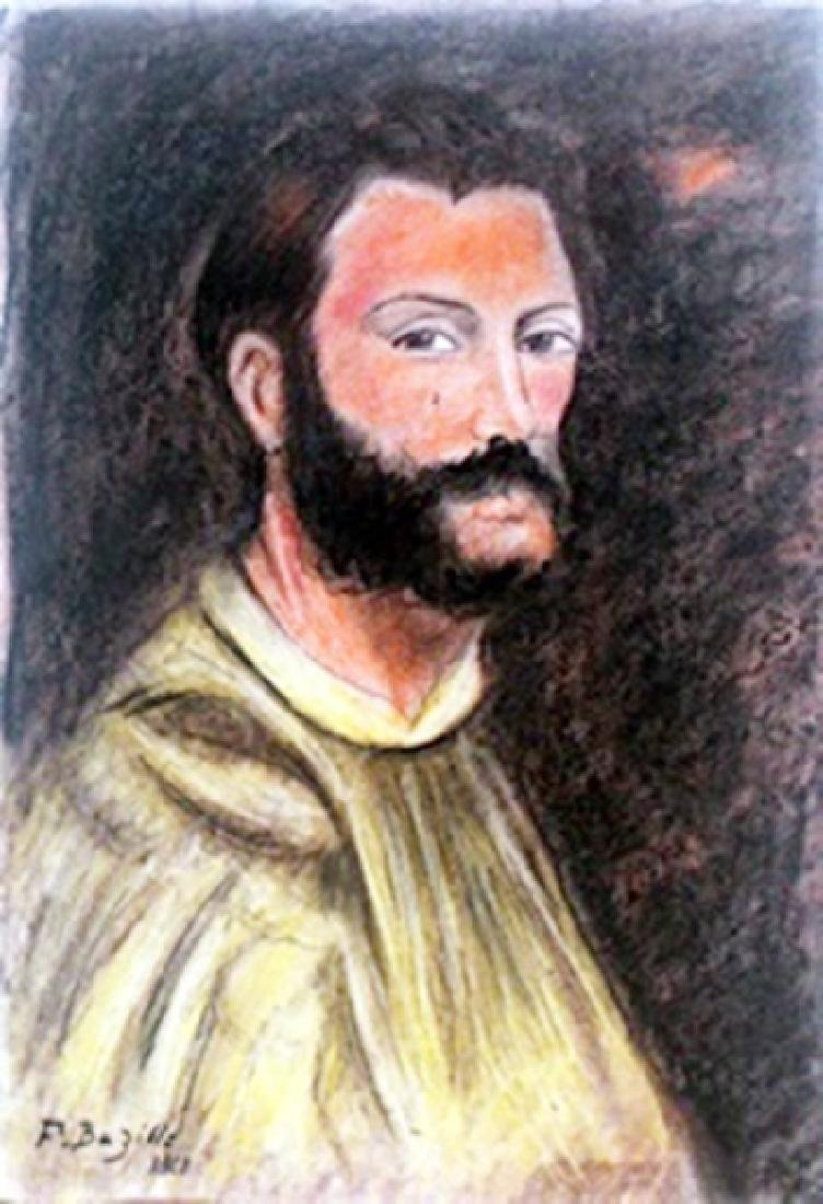 Pastel Drawing  Frederic Bazille