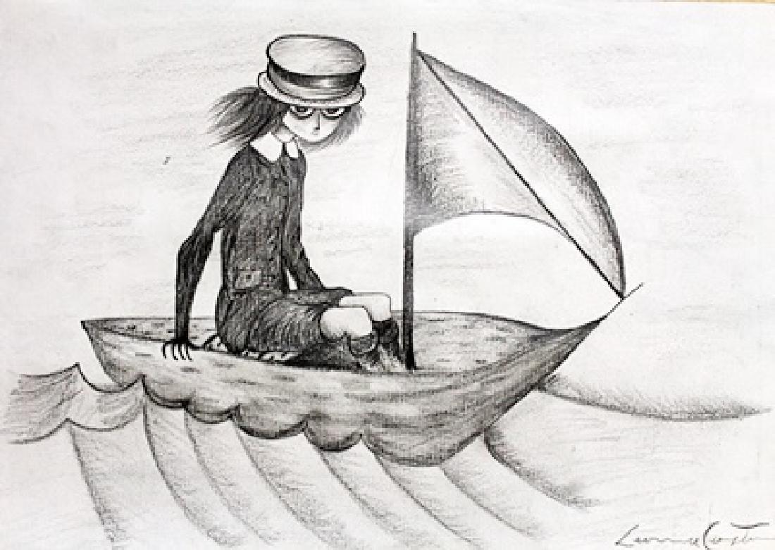 Drawing on Paper  Leonora Carrington