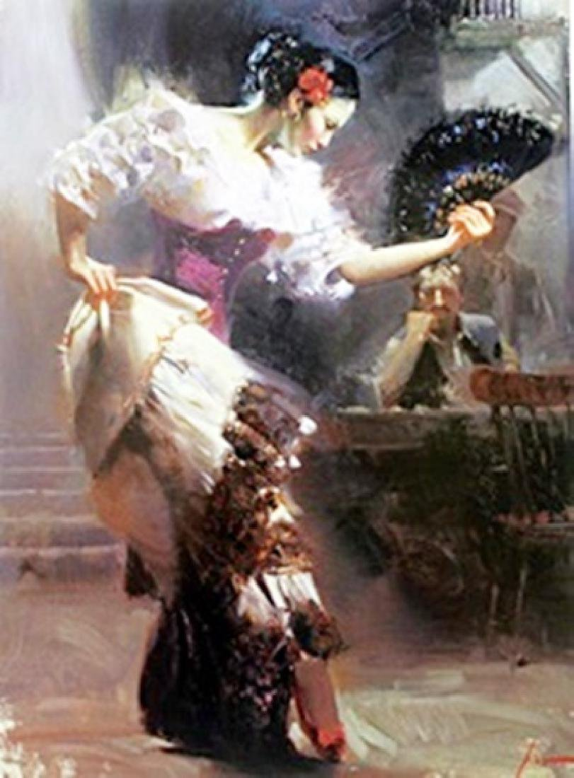 """Authentic Giclee on Paper """"The Dancer""""  Pino"""