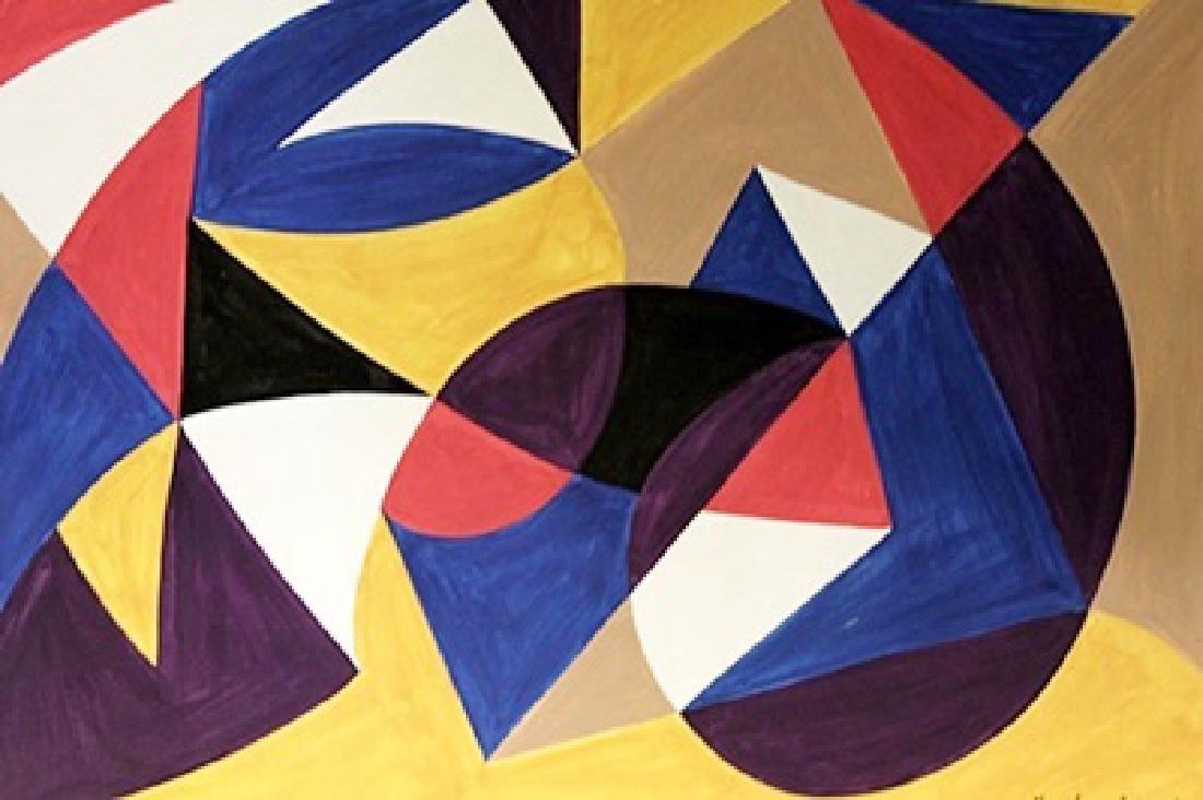 Geometric Composition - Alexander Archipenko -
