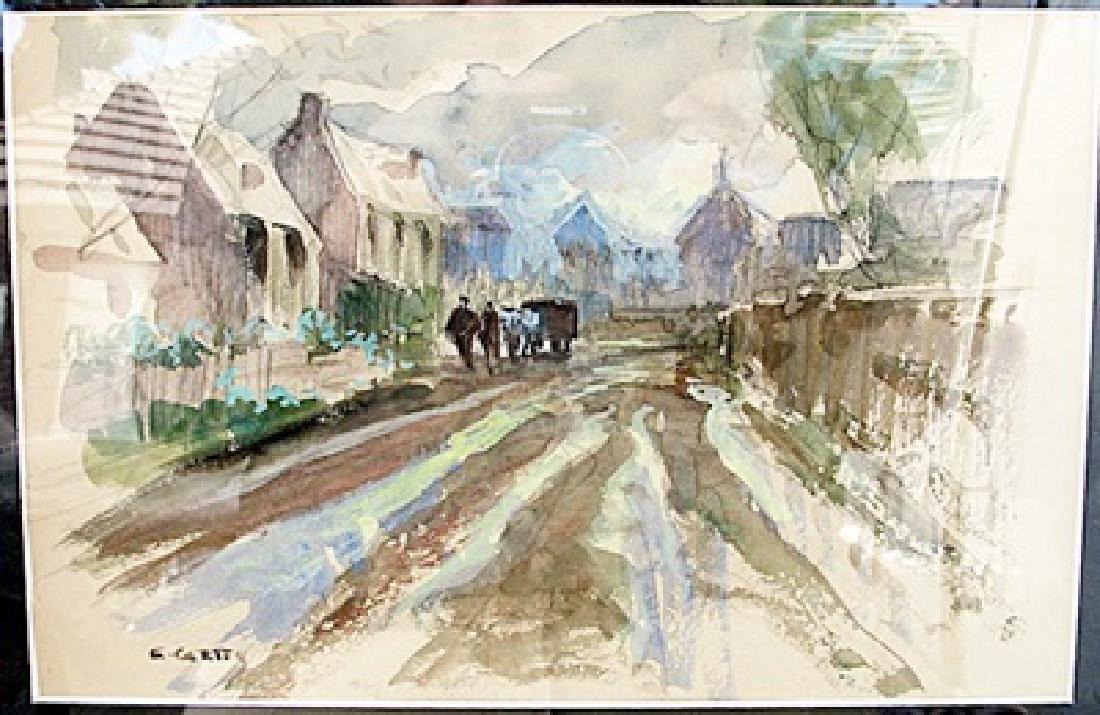 Edouard Cortes - Watercolor