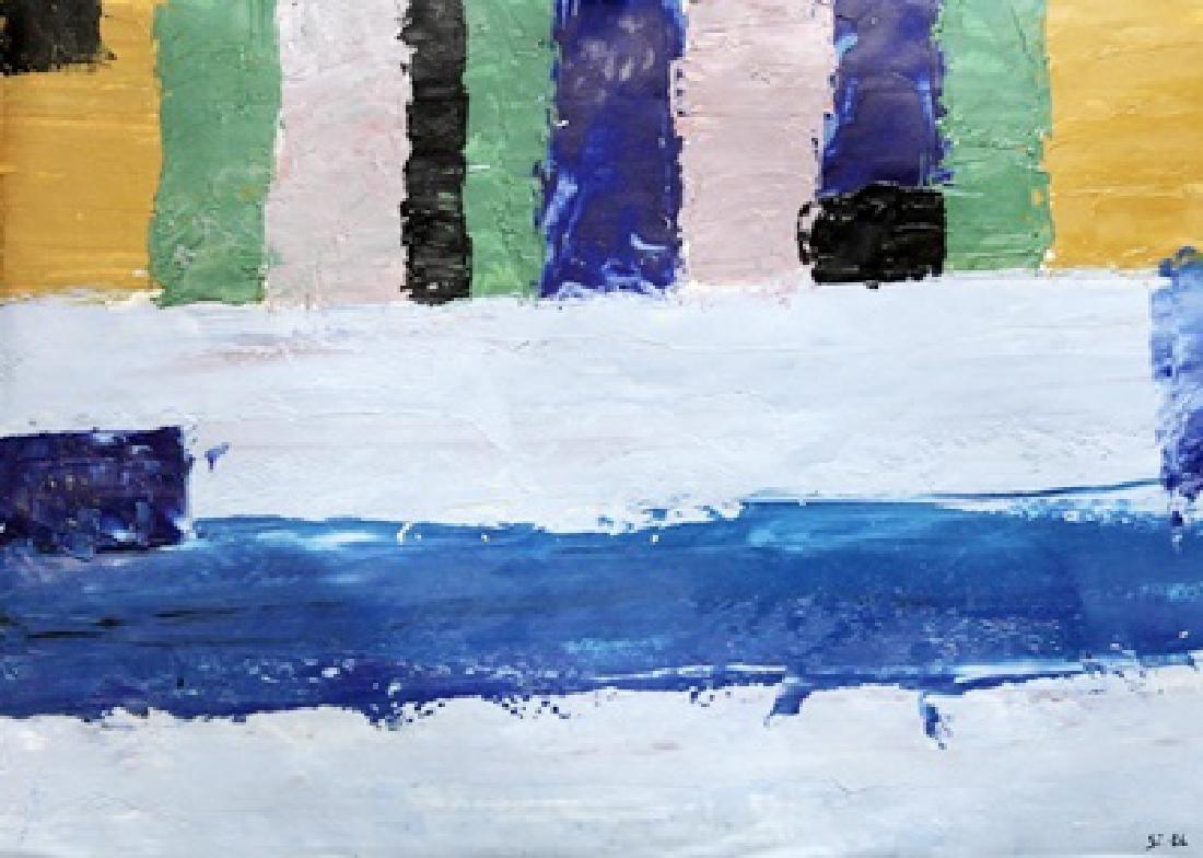 My Wall - Nicolas De Stael - Oil On Paper
