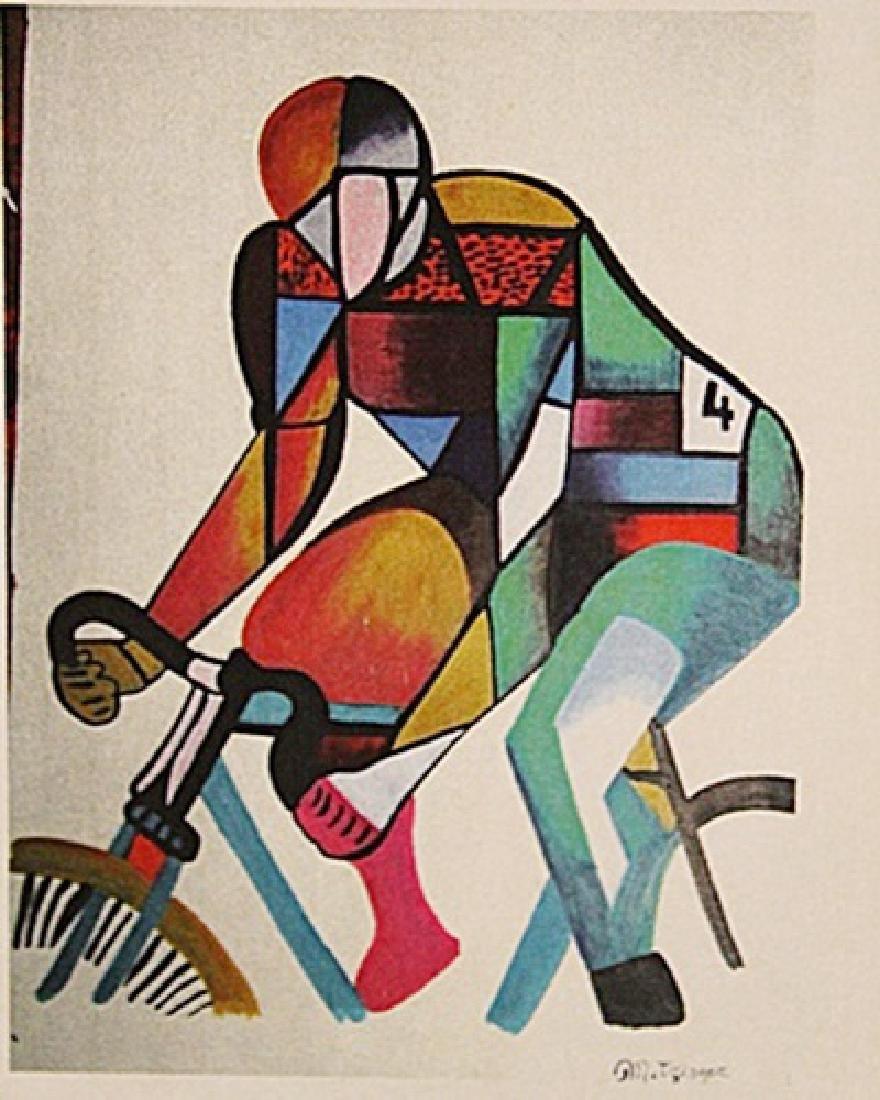 Jean Metzinger - Cyclist
