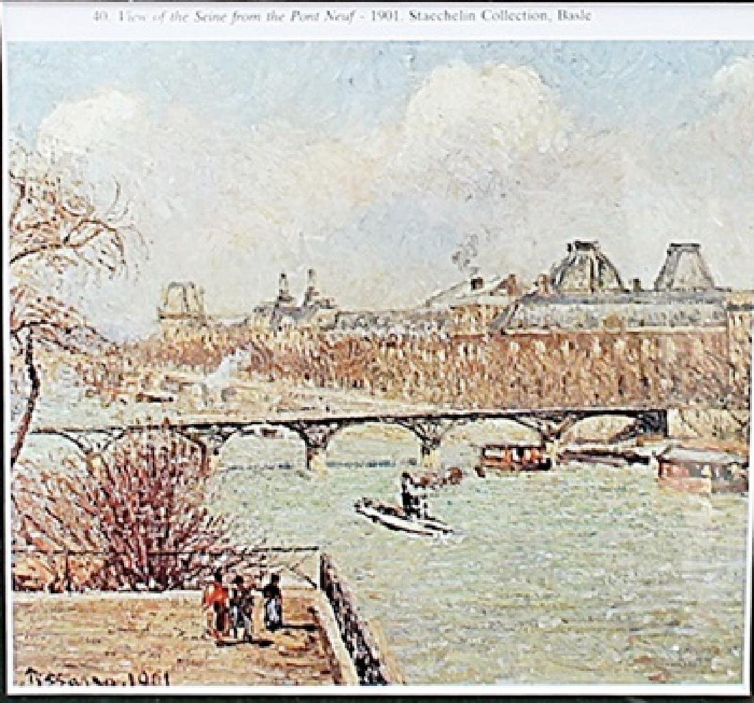 View of the Seine from the Pont Neuf - Camille Pissarro