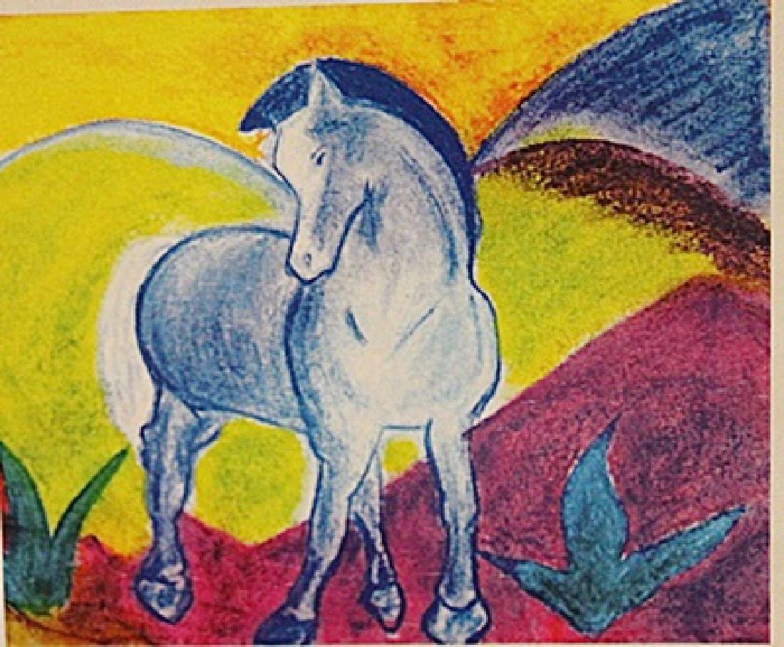 Franz Marc - Blue Horse