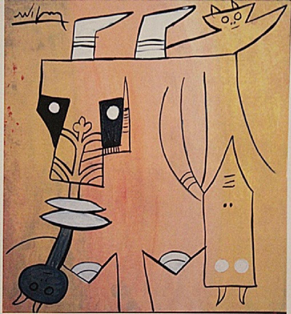 Wifredo Lam - The Characters