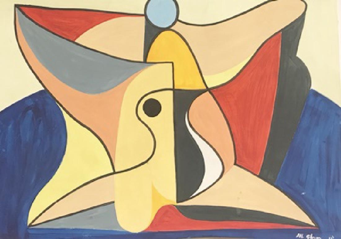 Still Life - Albert Gleizes - Watercolor On Paper