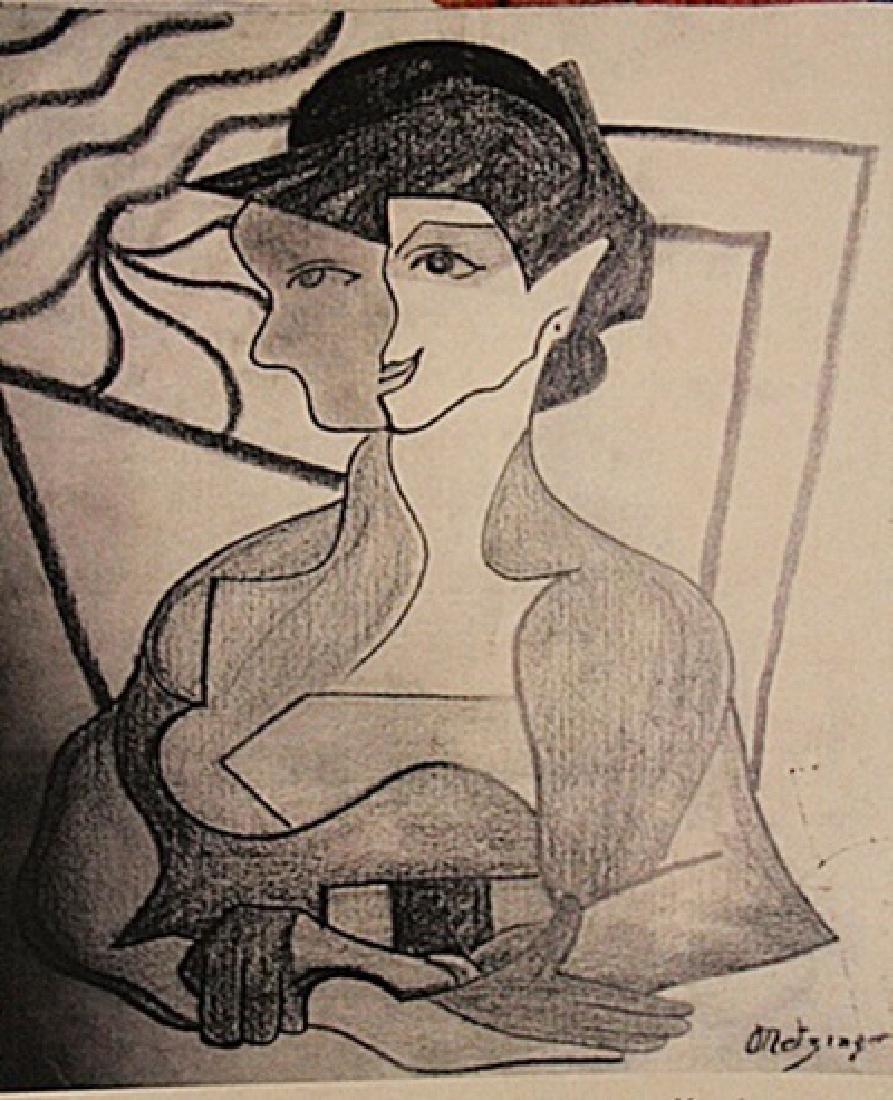 Jean Metzinger - La Femme
