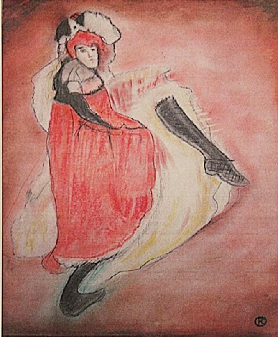 Henri de Toulouse-Lautrec - The Dancer