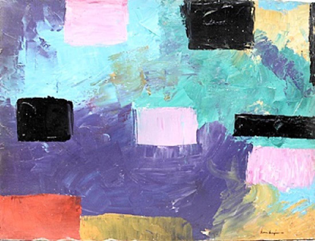 Hans Hofmann - Oil On Canvas