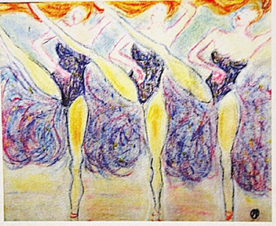 Henri de Toulouse-Lautrec - Three Dancers