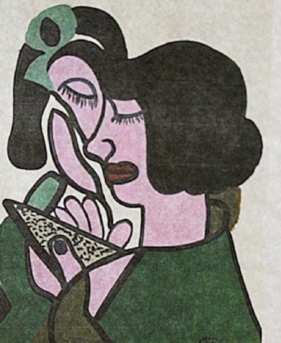 Jean Metzinger - Portrait Of Woman
