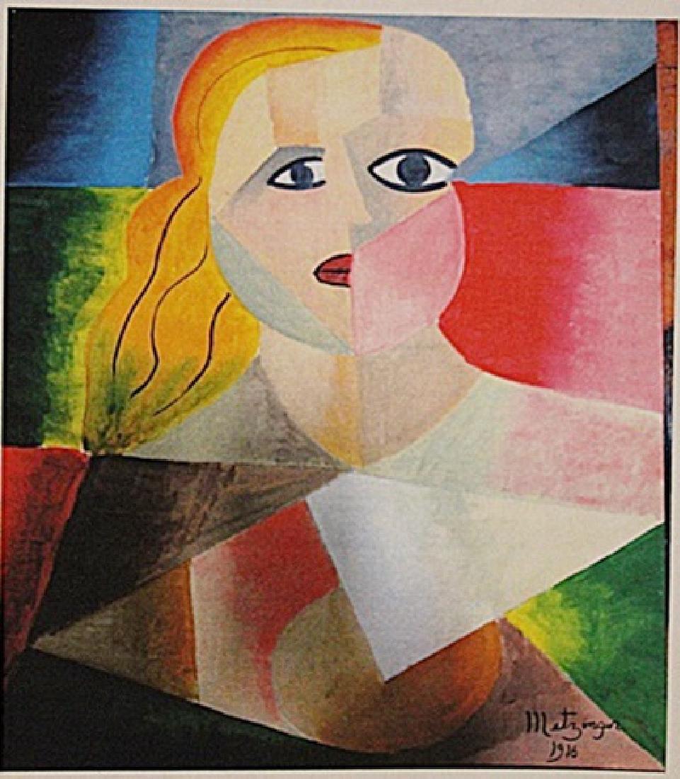 Jean Metzinger - Portrait Of Marla