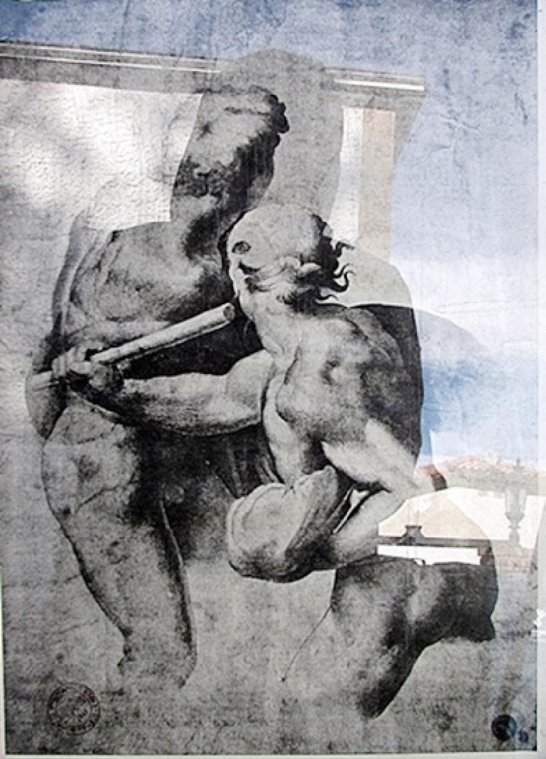 Battle of Cassina - Engraving