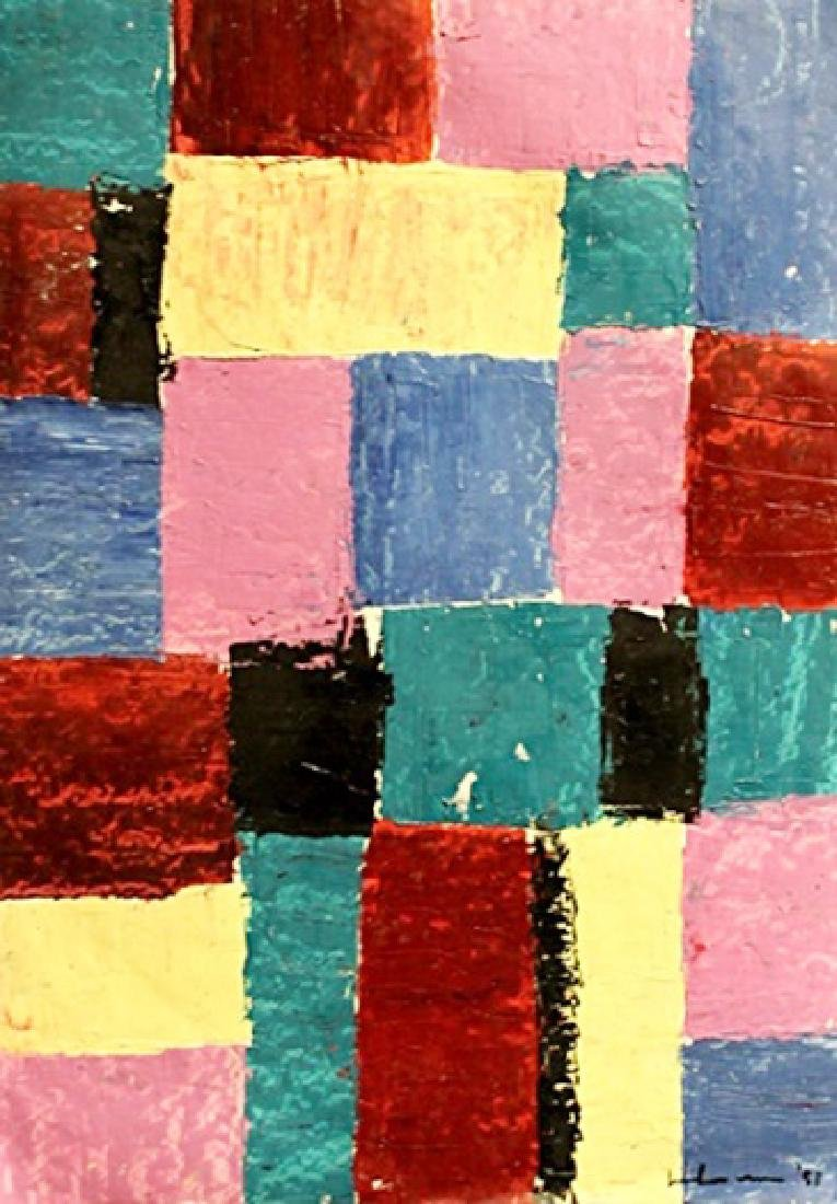 Composition VII - Hans Hofmann - Oil On Paper