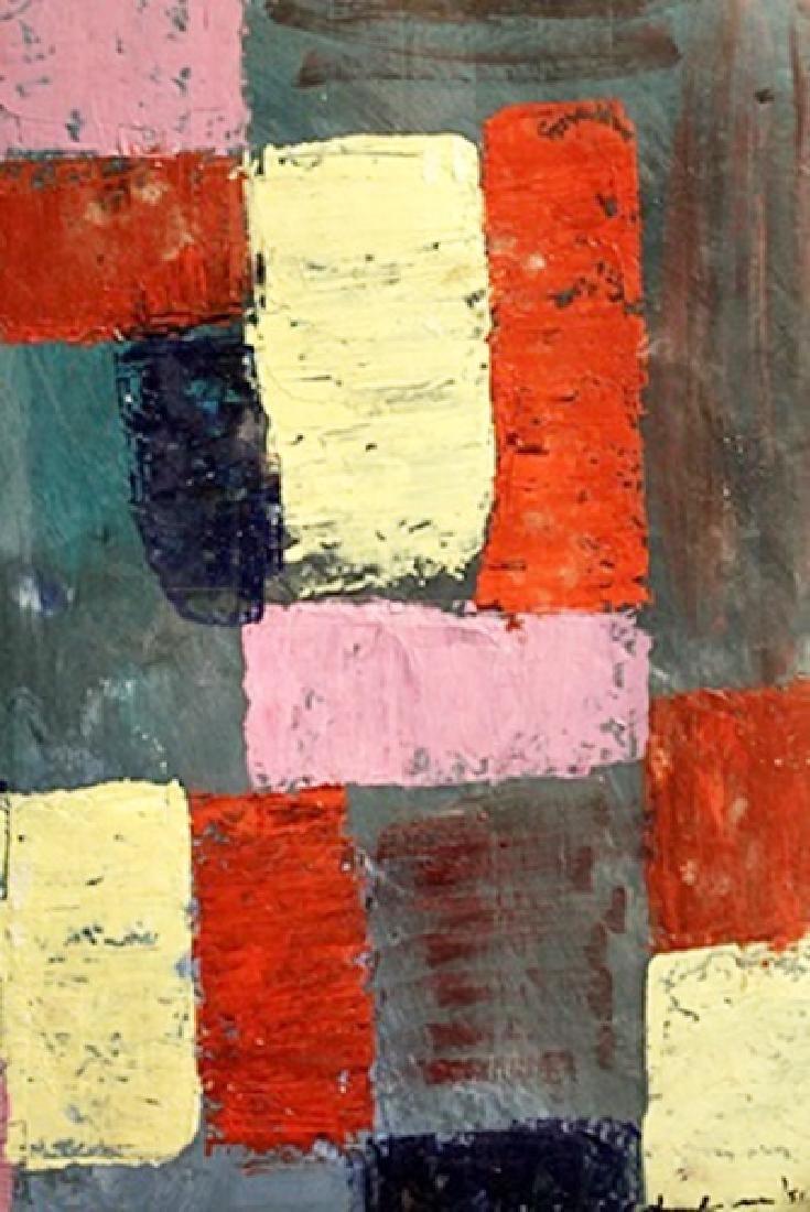 Composition - Hans Hofmann - Oil On Paper