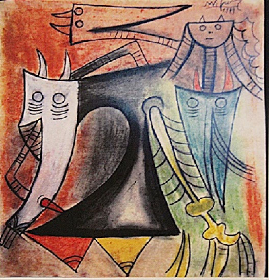 Wifredo Lam - The Hell
