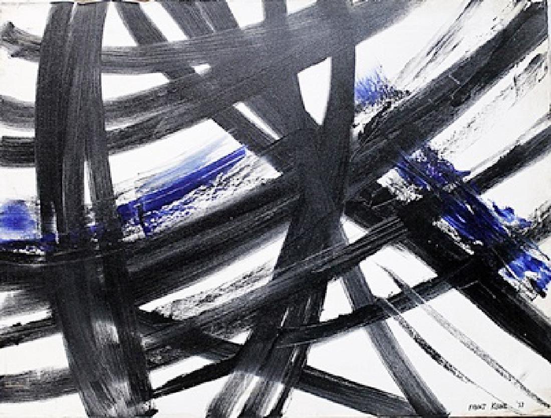 Franz Kline - Oil On Canvas