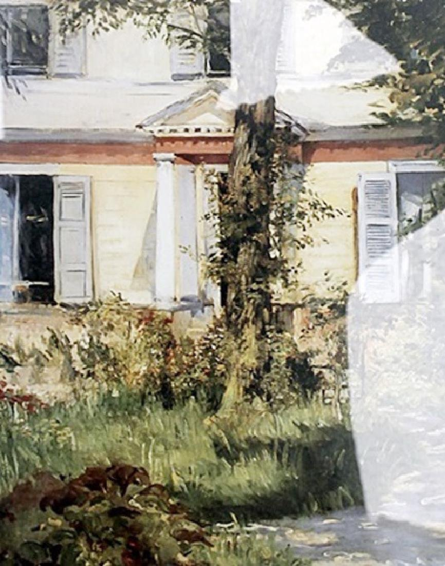 The House at Rueil - Edouard Manet - Lithograph