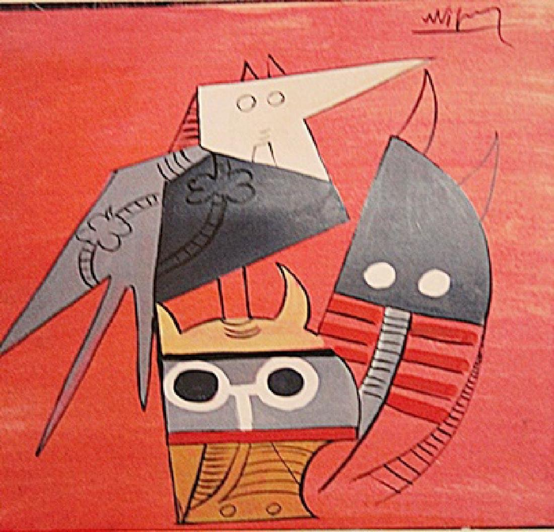 Wifredo Lam - The Birds