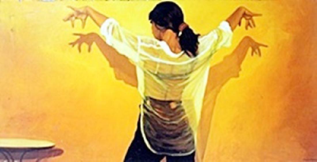 Giclee on Canvas  Lambaute
