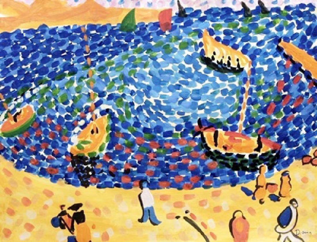 Port Of Collioure - Andre Derain - Watercolor