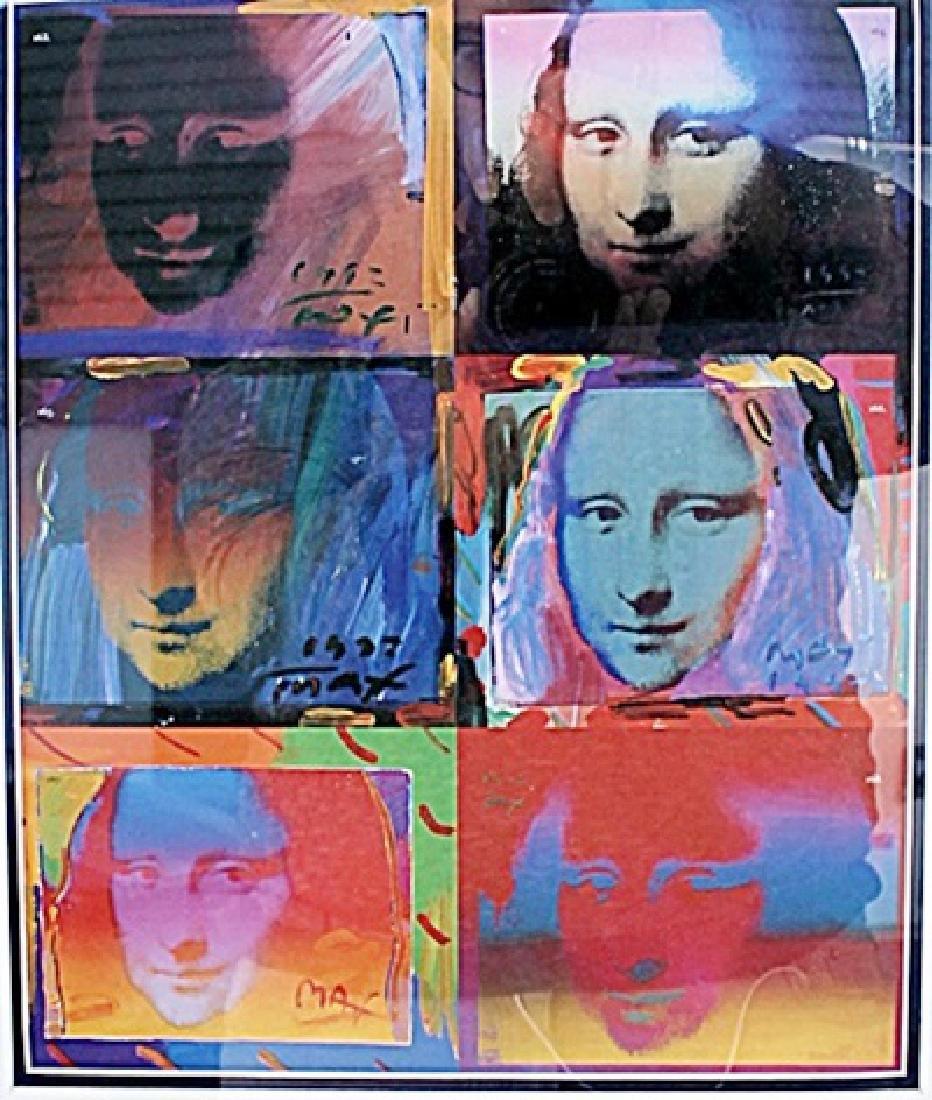 Mona Lisa - Peter Max - Lithograph