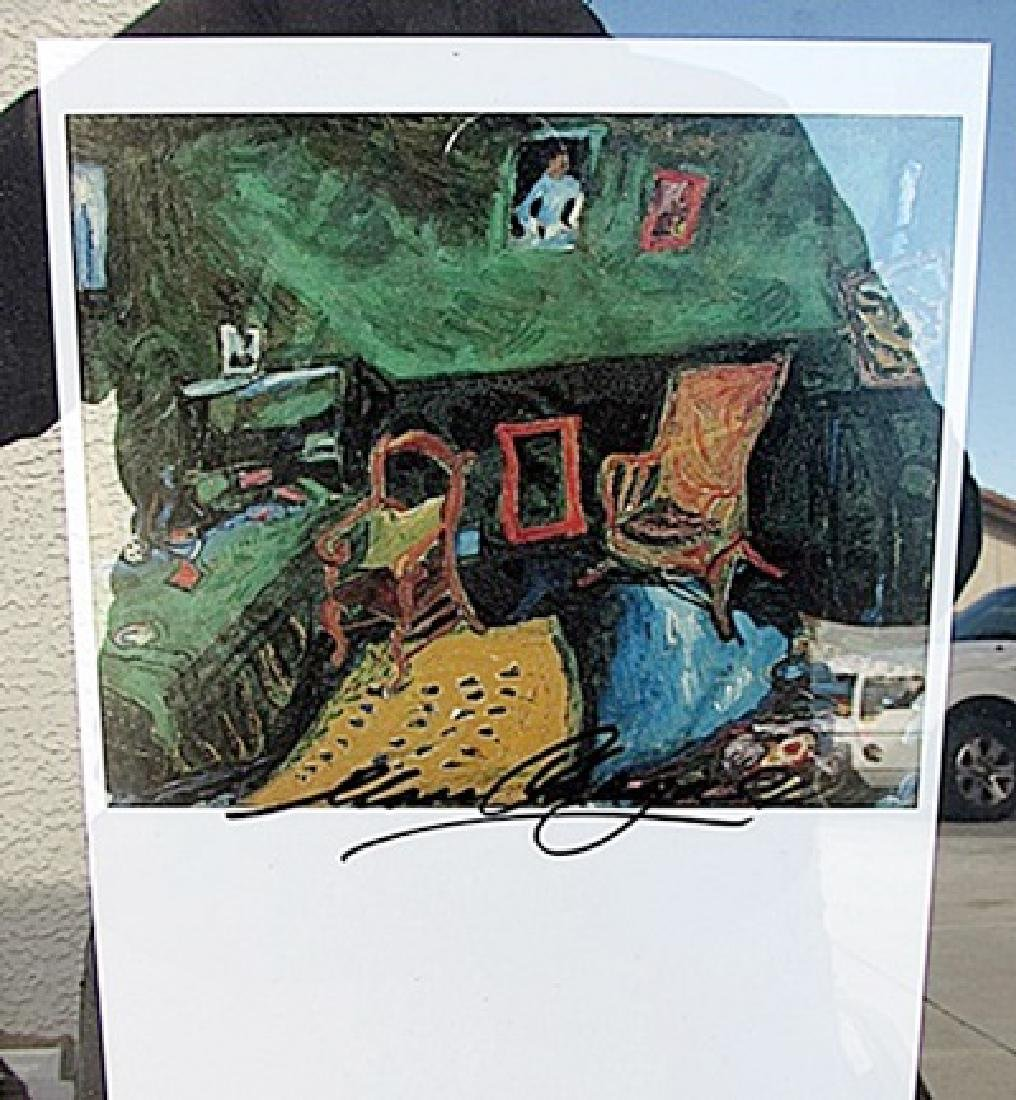 L'Atelier - Marc Chagall - Lithograph
